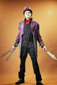 The Swordpunk Circus Skills Artist